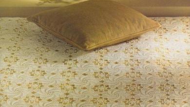 Photo of مفرش سرير كروشية بوحدات رائعة مع الباترون pattern crochet
