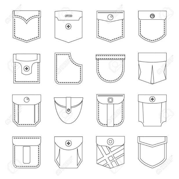 pocket types style