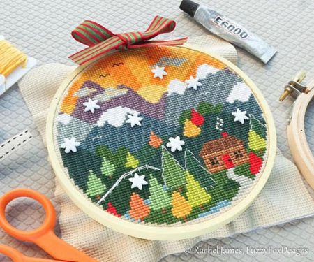 Photo of طريقة عمل الغرزة المتقاطعة فى الكنفا Cross Stitch