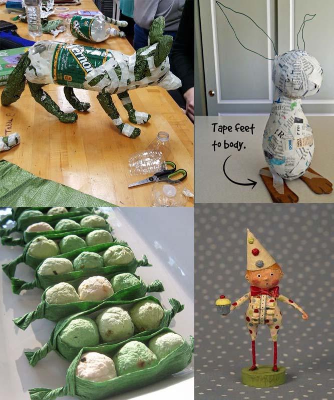 ألعاب للأطفال من عجينة الورق-2