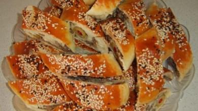 Photo of فطائر باللحم والزيتون