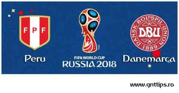 Ponturi fotbal - Peru - Danemarca - Campionatul Mondial - Grupa C - 16.06.2018