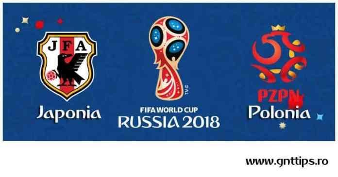 Ponturi fotbal - Japonia - Polonia - Campionatul Mondial - Grupa H - 28.06.2018