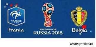 Ponturi fotbal - Franta - Belgia - Campionatul Mondial - Semifinale - 10.07.2018
