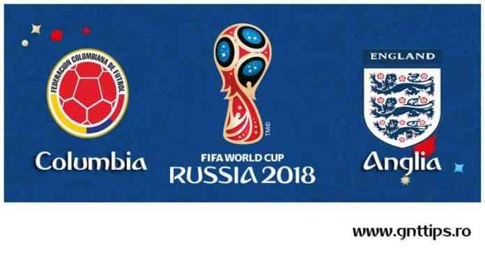 Ponturi fotbal - Columbia - Anglia - Campionatul Mondial - Optimi - 03.07.2018