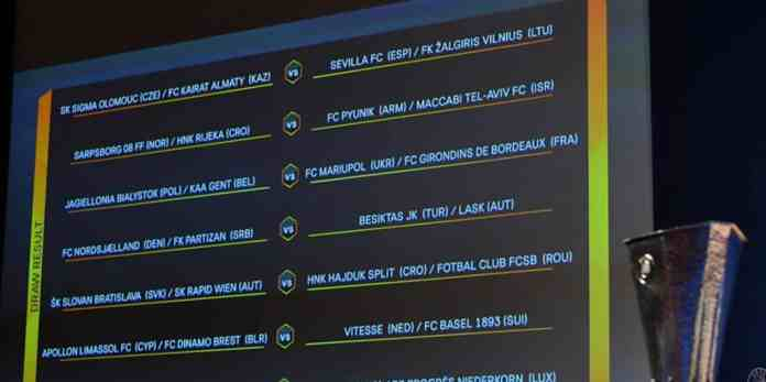 Cu cine joaca FCSB si CFR in playoff-ul Europa League