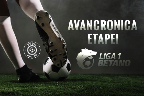 Avancronica Etapei Liga 1