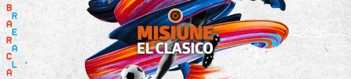 Pariaza 20 ron live pe El Clasico si primesti 10 ron plus rotiri gratuite
