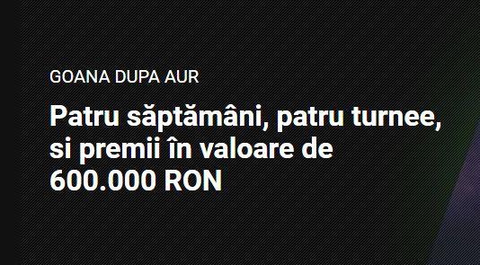 In noiembrie ai 4 turnee de sloturi cu premii totale de 600.000 ron