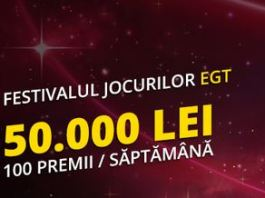 Sloturile Fortuna iti pot aduce 1.500 ron intre 25-31 ianuarie
