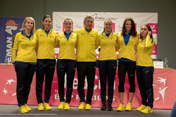 Jucatoarele care reprezinta Romania in Fed Cup
