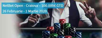 Cand incepe NetBet Open Craiova?