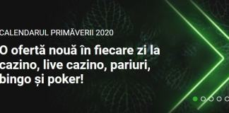 Calendarul primaverii Unibet 2020