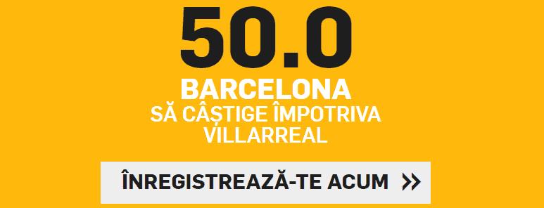 Cota marita pentru victoria Barcelonei