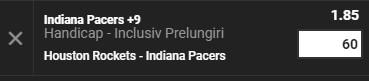 Cote din NBA Unibet