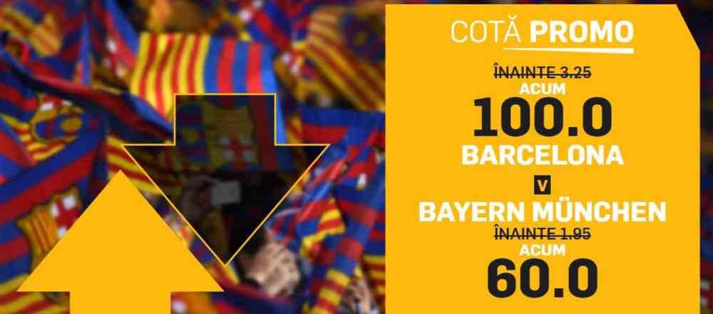 Cote marite in Barcelona vs Bayern Munchen