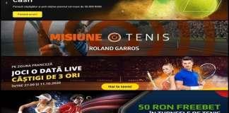 Promoții Pariuri Roland Garros 2020