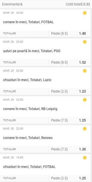 Liga Campionilor: 3 bilete Superbet - Cota 5.00