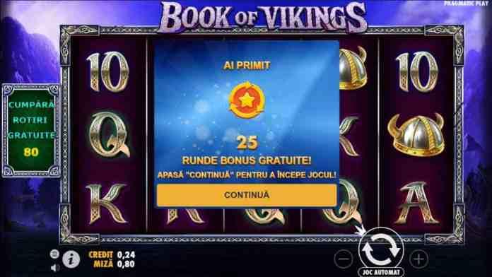Rotiri Gratuite Book of Vikings