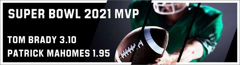 Super Bowl 2021 MVP odds