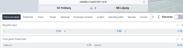 oferta betano - cote freiburg vs rb leipzig