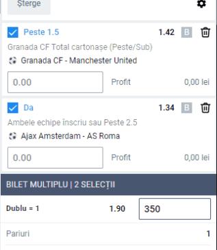 oferta betano - cota 2 din fotbal europa league