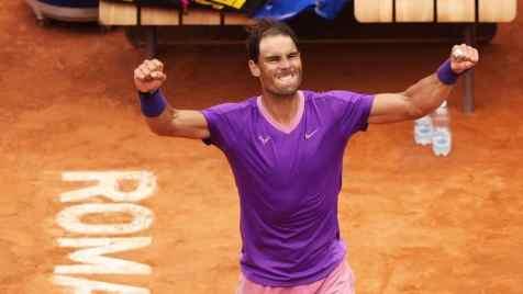 Rafa Nadal vs. Novak Djokovic in finala ATP Roma