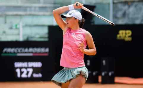 Iga Swiatek - Karolina Pliskova in Finala WTA de la Roma