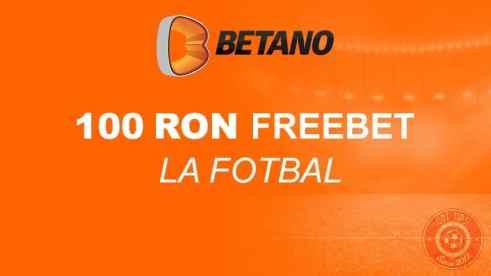100 RON FreeBet fara depunere