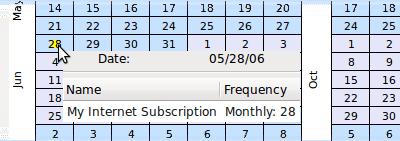 [Scheduled transactions]
