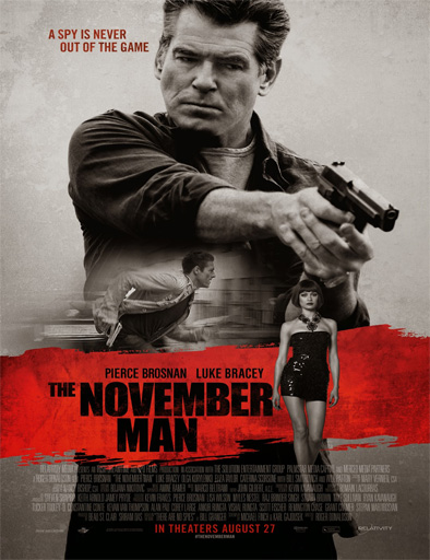 Poster de The November Man (La conspiración de noviembre)