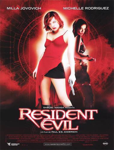 Poster de Resident Evil (El huésped maldito)