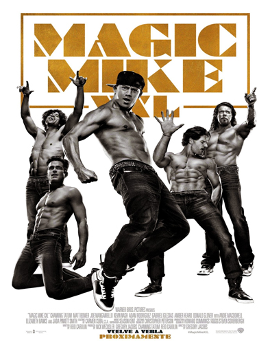Poster de Magic Mike XXL
