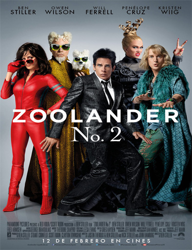 Poster de Zoolander 2