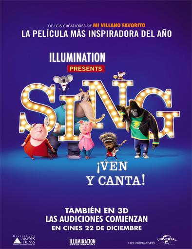 Poster de Sing: ¡Ven y canta!