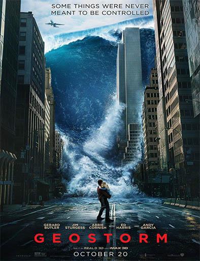 Poster de Geostorm (Geo-Tormenta)