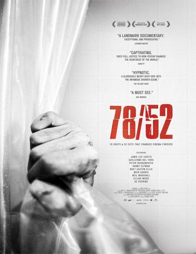 Poster de 78/52. La escena que cambió el cine