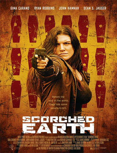 Poster de Scorched Earth