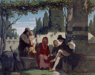 Florentine Storytellers of the Fourteenth Century by Vincenzo Cabianca