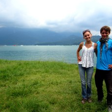 Quick picture as we moved on from Sun Moon Lake