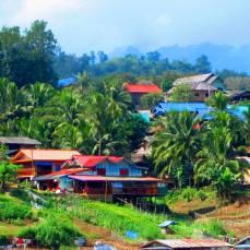 Laos riverboat