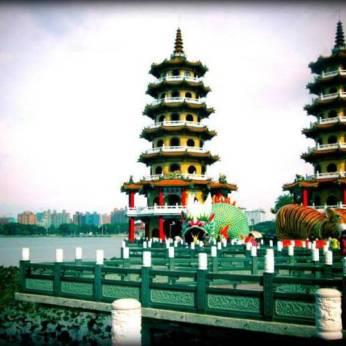 Lotus Lake Pagoda, photo by Ria-Leen Louw