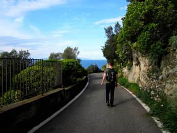 Searching for the Blue Grotto, Capri Italy