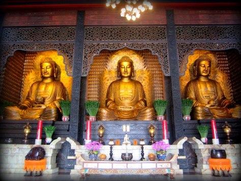 Fo Guan Shan Buddhas