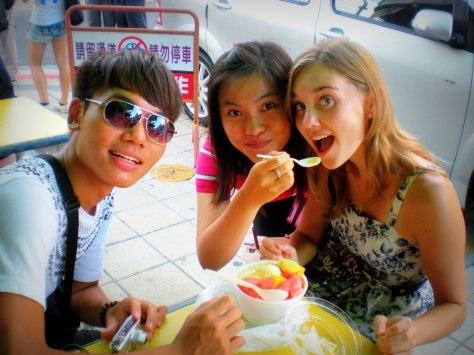 Friends in Taiwan