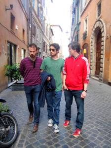Italy traveling companions
