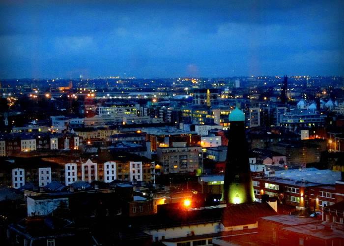 Dublin at night Ireland