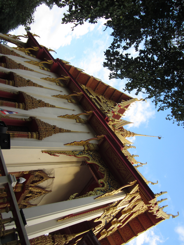 Buddhist monastery in Khon Kaen, Thailand