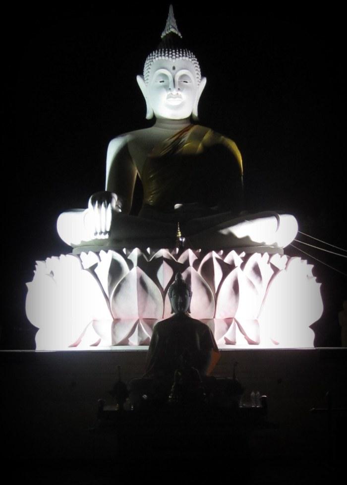 Buddhist shrine in Khon Kaen, Thailand
