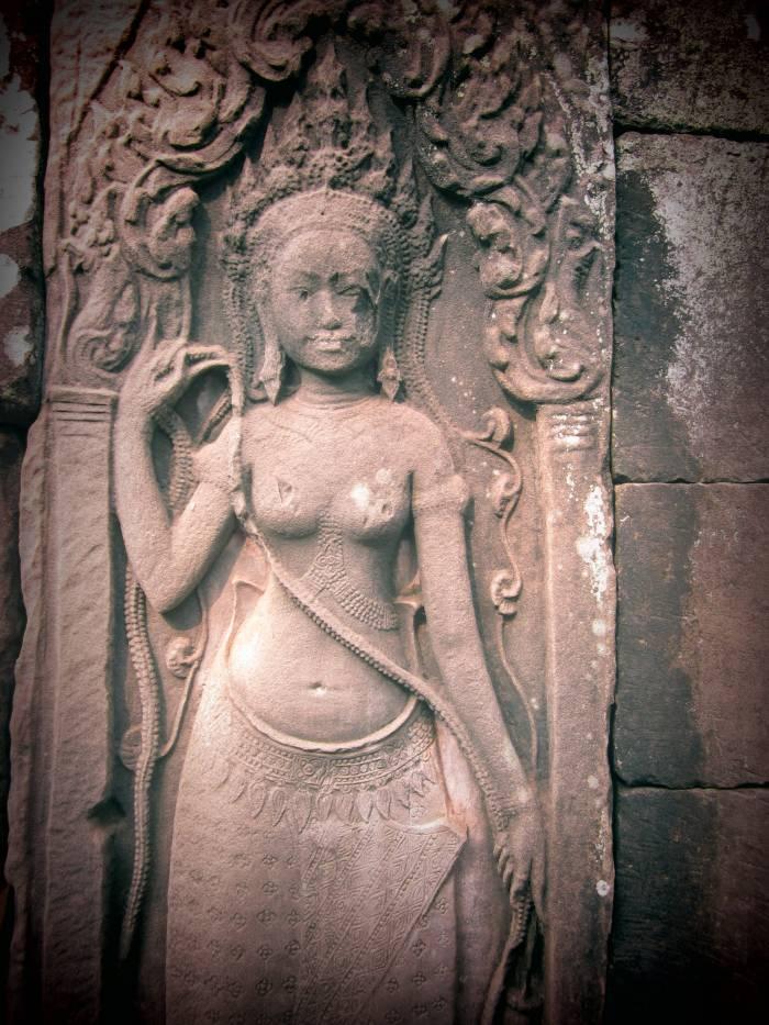 The gods of Angkor Cambodia